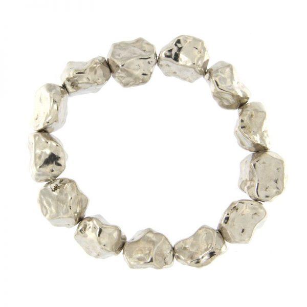 bracciale pepite argento 925