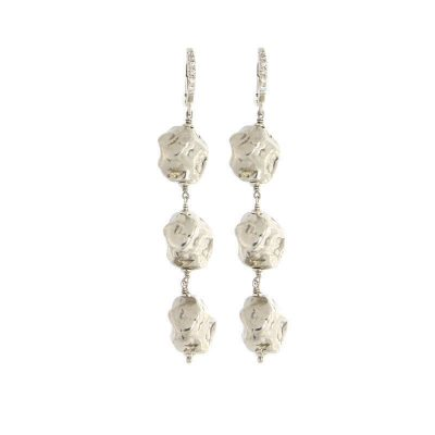 orecchini pepite d'argento 925