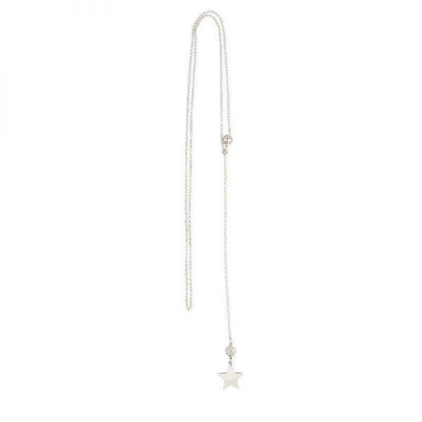 collana stellina saliscendi argento 295