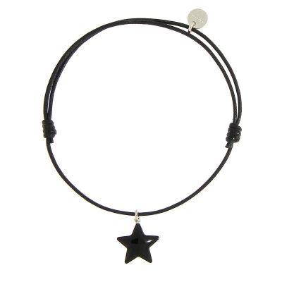 bracciale stella nera