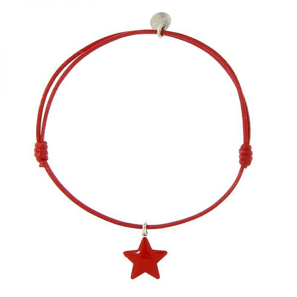 bracciale stella rossa