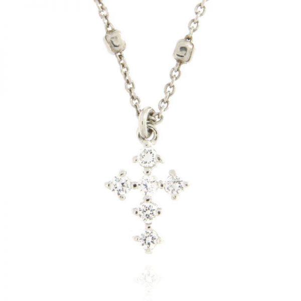 girocollo croce argento 925