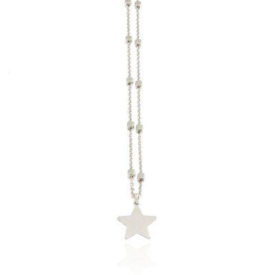 girocollo stella argento 925