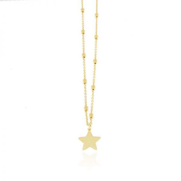 girocollo stella dorata