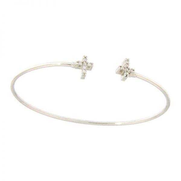 bracciale crocette argento925