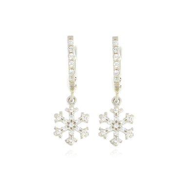 orecchini charm fiocco di neve