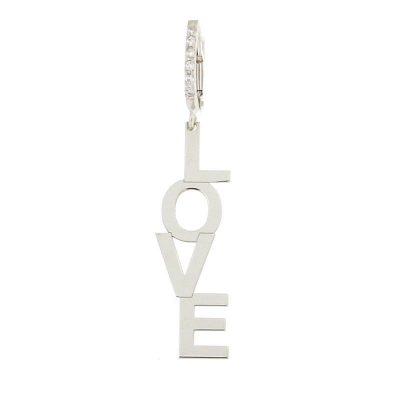 orecchino love argento 925
