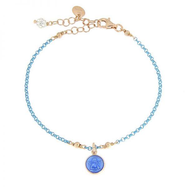 bracciale angioletto azzurro