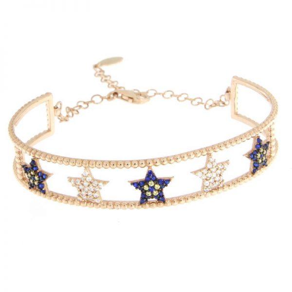 bracciale rigido stelle