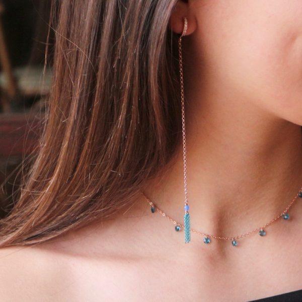orecchini nappina Gialloro gioielli