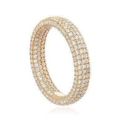 anello veretta pave' rosa