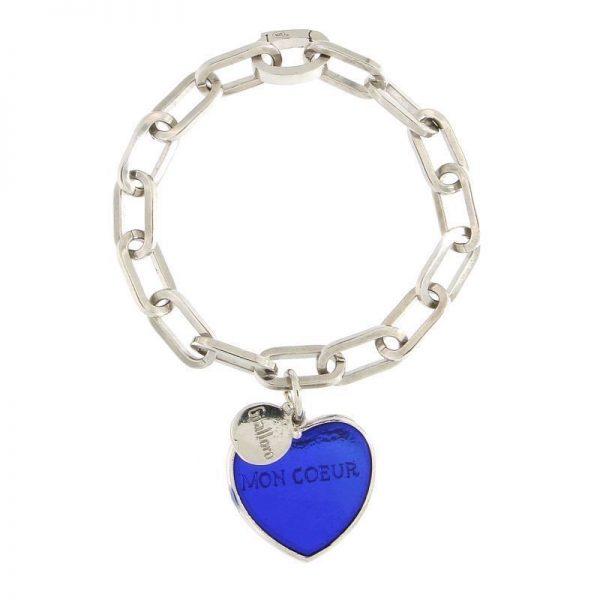 bracciale mon coeur Puntaldia blu