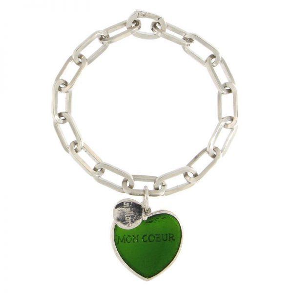 bracciale mon coeur Puntaldia verde